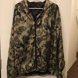 Forever 21 Floral Camo Jacket
